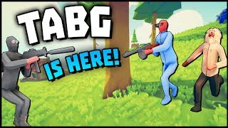 TOTALLY ACCURATE BATTLEGROUNDS! TABG Is Here! (TABS Battle Royale Gameplay)