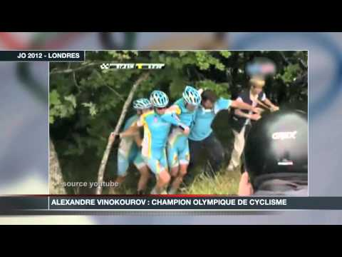 Alexandre Vinokourov champion olympique de cyclisme
