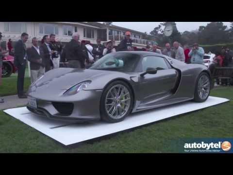 Porsche 918 Spyder Plug-In Hybrid Walkaround