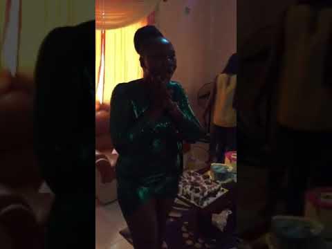 Adebimpe oyebade surprise her fan on her birthday