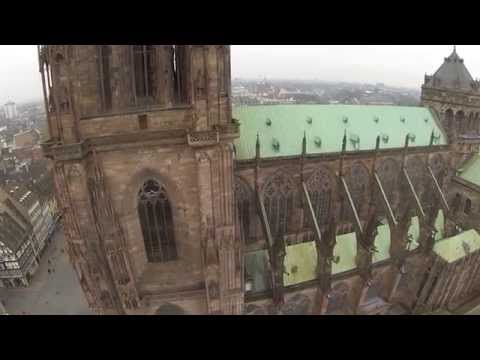 Drone Cathedral Notre Dame
