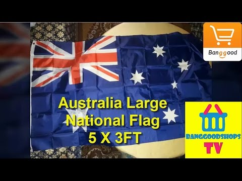 Australia Large National Flag 5 X 3FT