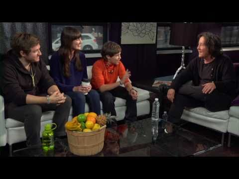 Clay Jeter, Sarah Hagan and Austin Vickers