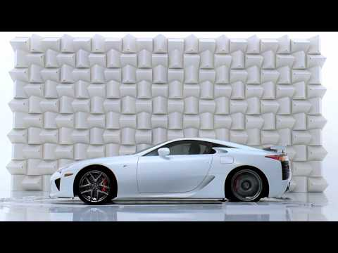 Lexus LFA Красивый рекламный ролик Lexus: разбитый бокал