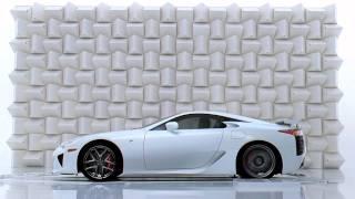 Красивый рекламный ролик Lexus: разбитый бокал