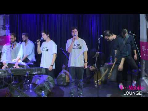 Lukas Graham in the T-Mobile Lounge