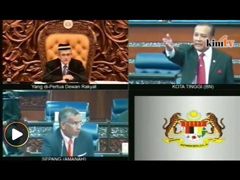 Ungkapan 'bodoh sombong', 'bangang' bergema di Parlimen