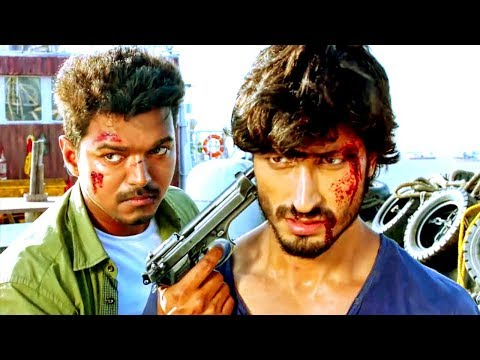 Thalapathy Vijay And Vidyut Jamwal Best Action Scene | Indian Soldier Never On Holiday