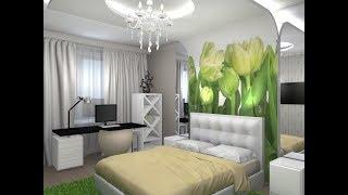 дизайн спальни - идеи