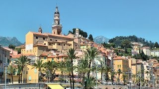 Menton France  City pictures : Menton, French Riviera, France [HD] (videoturysta)