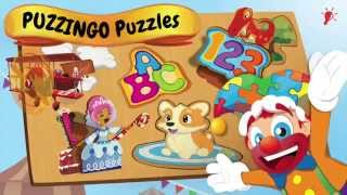 Toddler Kids Puzzles PUZZINGO YouTube video