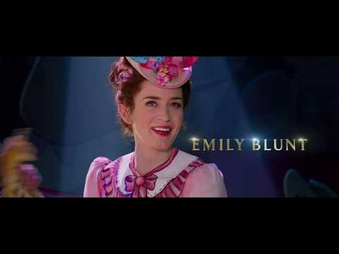 Preview Trailer Il ritorno di Mary Poppins, trailer ufficiale italiano