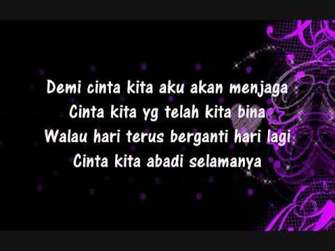 Download Video Cinta Kita - Shireen Sungkar Ft Teuku Wisnu (lyric)
