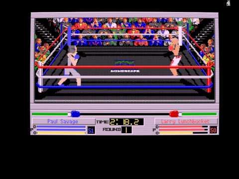 4D Boxing Amiga