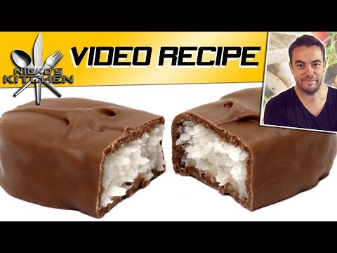 Bounty Chocolate Bars – Video Recipe