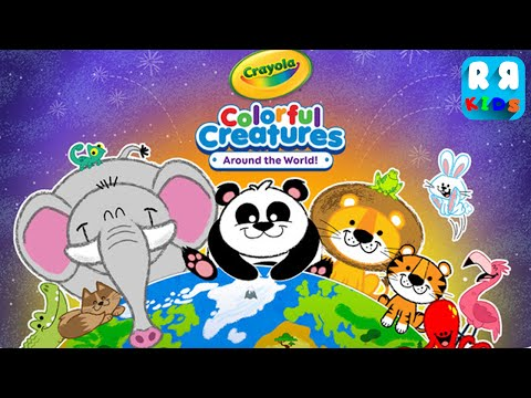 Crayola Colorful Creatures - Around the World! (By Budge Studios) - iOS / Android - Gameplay Video