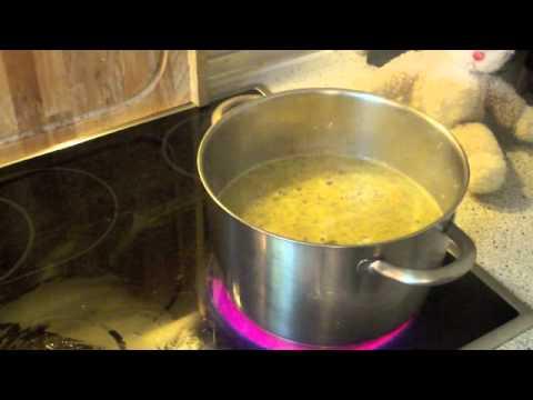 Kürbissuppe mit Ingwer -