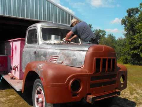 My fire truck restoration, What I did on my Summer vacation