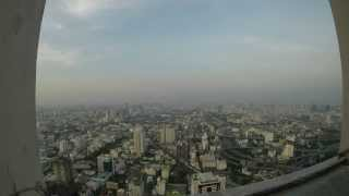Bangkok Time Lapse From Sky Tower