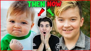 Meme Stars Then And Now!