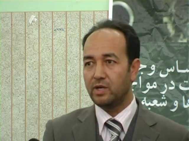 مصاحبه عبدالقادر مصباح درکنفرانس نظر سنجی خط نودرشمال افغانستان  6 دلو 1390