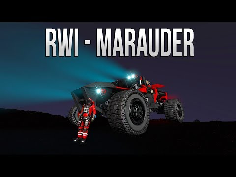 Space Engineers - EPIC RWI Marauder Rover! (Planetary Rover)