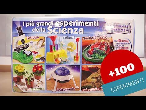 Più di 100 esperimenti scientifici per bambini: i grandi esperimenti Clementoni