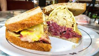 Legendary Reuben Sandwich by experts Monty's Deli London - Food Busker by Food Busker
