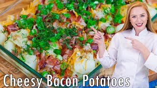 EPIC Loaded Bacon and Garlic Potatoes by Tatyana's Everyday Food