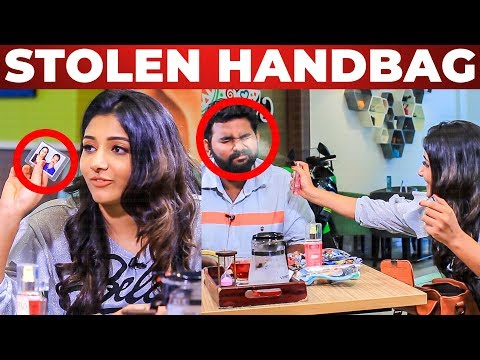 Stolen Things Inside Aditi Menon's Handbag |  Fun Chat With VJ Ashiq | What's Inside The HANDBAG