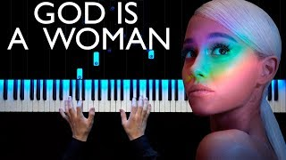 Ariana Grande - God is a woman | Piano cover | How to play | Sheets