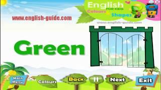 تعليم الاطفال الانجليزية - الالوان - Colours