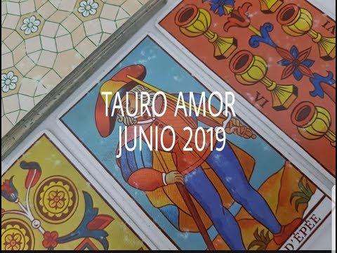 Tarjetas de amor - TAURO AMOR JUNIO 2019