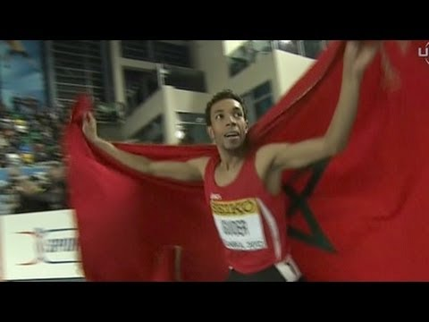 M 1500 F01 (Abdalaati Iguider becomes 1500m champ, World Indoors 2012)