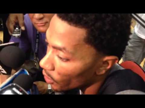 I - Bulls star Derrick Rose discusses coming back this season from two major injuries.