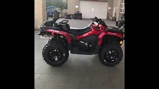 7. 2018  Can Am Outlander 850 MAX XT