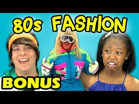 Fashion - Watch Full Episode: http://goo.gl/KoeHjf SUBSCRIBE to the REACT Channel: http://goo.gl/47iJqh Support TheFineBros channel! FREE ANIME! http://crunchyroll.com/FineBros & FREE VIDEO GAMES!