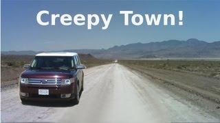 Video Strange Creepy Town Near Area 51 - Semi Abandoned Town in Nevada Desert - The REAL Loneliest Road! MP3, 3GP, MP4, WEBM, AVI, FLV Juli 2019