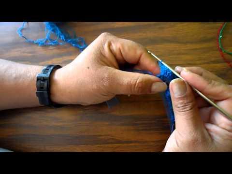 puntilla practica a crochet n 11 orilla o puntilla abanicos