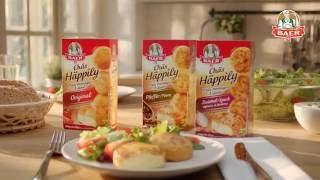 TV-Werbesprecher für Käse-Fernsehspot