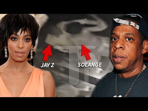 Jay Z PHYSICALLY ATTACKED by Beyonce's Sister Solange [CLIP]
