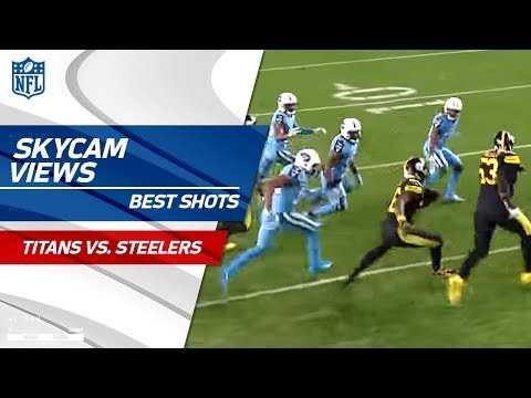 Video: Best SkyCam Views from TNF! | Titans vs. Steelers | NFL Wk 11 Highlights