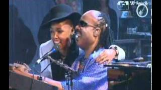 Stevie Wonder Feat. Janelle Monáe - Superstition - Live at Rock In Rio 2011