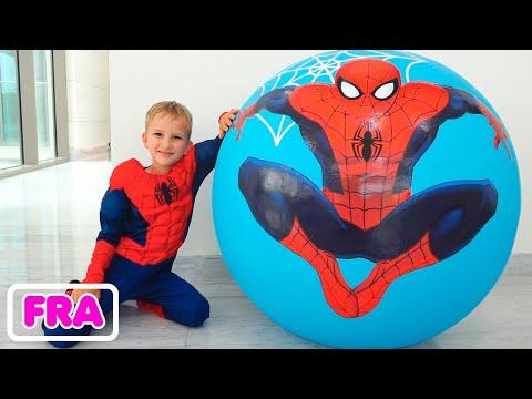 Vlad et Niki   histoires drôles de jouets avec des costumes pour enfants