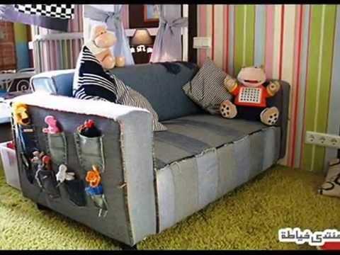 Покрывало на диван своими руками для дома