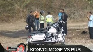 Video [GAGAL SALIP] Bus Vs Konvoi Moge di Purworejo, Pengendara Harley Davidson Terluka - iNews Pagi 17/08 MP3, 3GP, MP4, WEBM, AVI, FLV Juni 2017