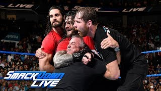 Video Kurt Angle & The Shield lead a Raw raid of SmackDown: SmackDown LIVE, Nov. 14, 2017 MP3, 3GP, MP4, WEBM, AVI, FLV Juli 2018