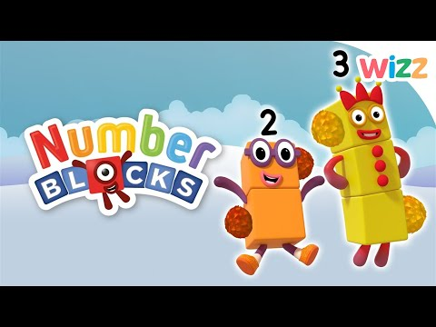 Numberblocks - Learn To Count | Tickled By Fluffies | Wizz | Cartoons For Kids
