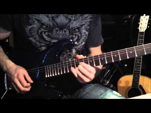 Allen Hinds - Driving South Guitar Solo Cover.