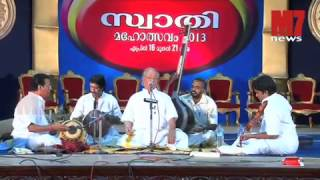 T.V.Gopalakrishnan Performing At Swathi Mahothsavam 2013